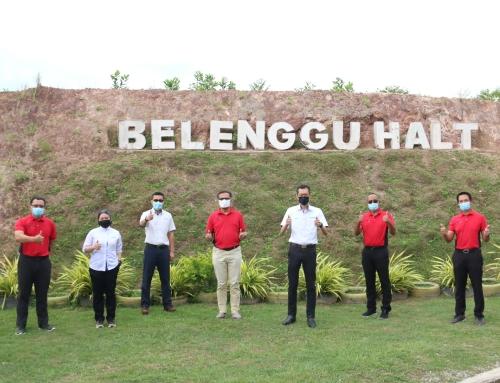 YBhg. Encik Anwar Syahrin Abdul Ajib visit Belenggu Halt Landfill